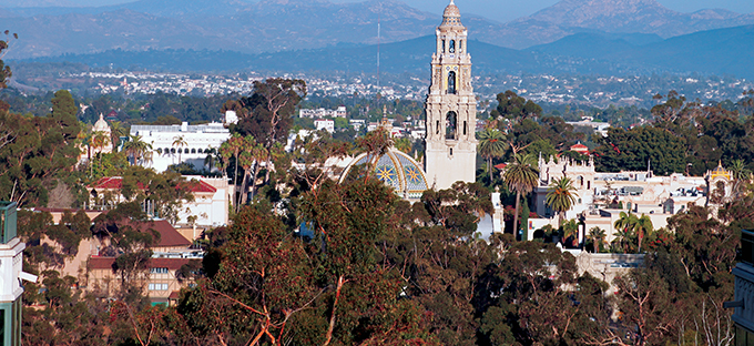 Balboa Park Bird's Eye View -Courtesy Joanne DiBona, SanDiego.org