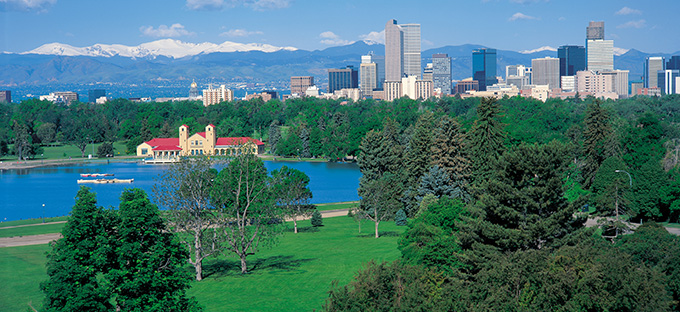 City Park and Denver Skyline