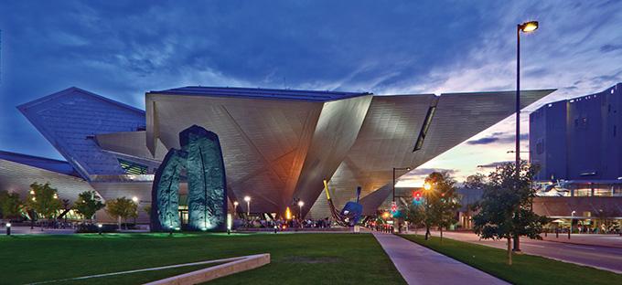Denver Art Museum- exterior