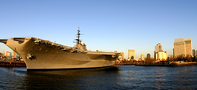 Downtown USS Midway -Courtesy Joanne DiBona, SanDiego.org