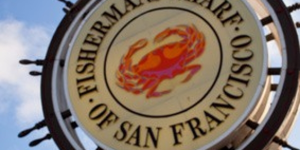 Fishermans Wharf Sign – San Francisco, California USA