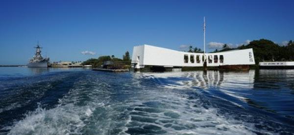 Departing Pearl Harbor