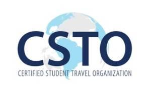 certified student travel organization logo