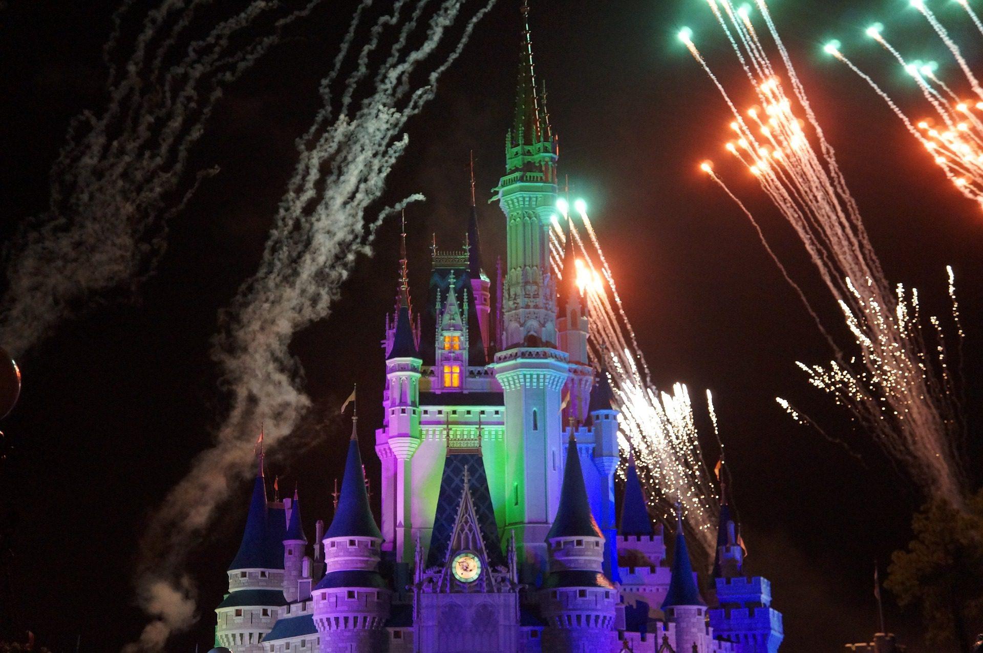Disneyland Firework