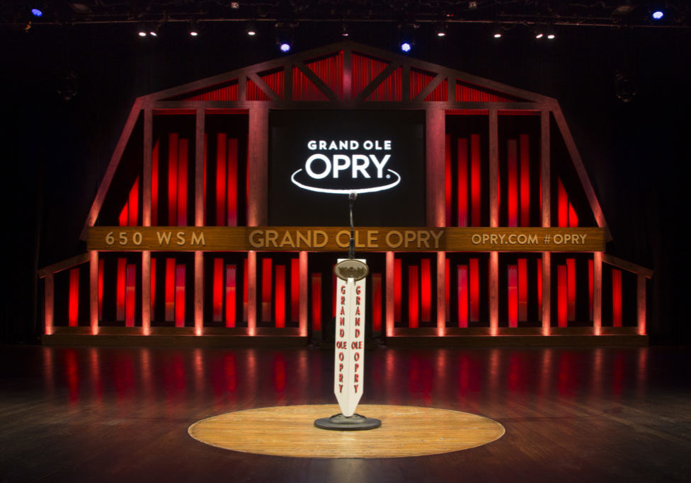 Grand Ole Opry House Stage, Red (Credit Chris Hollo)