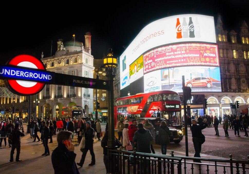 London Piccadilly Circlus