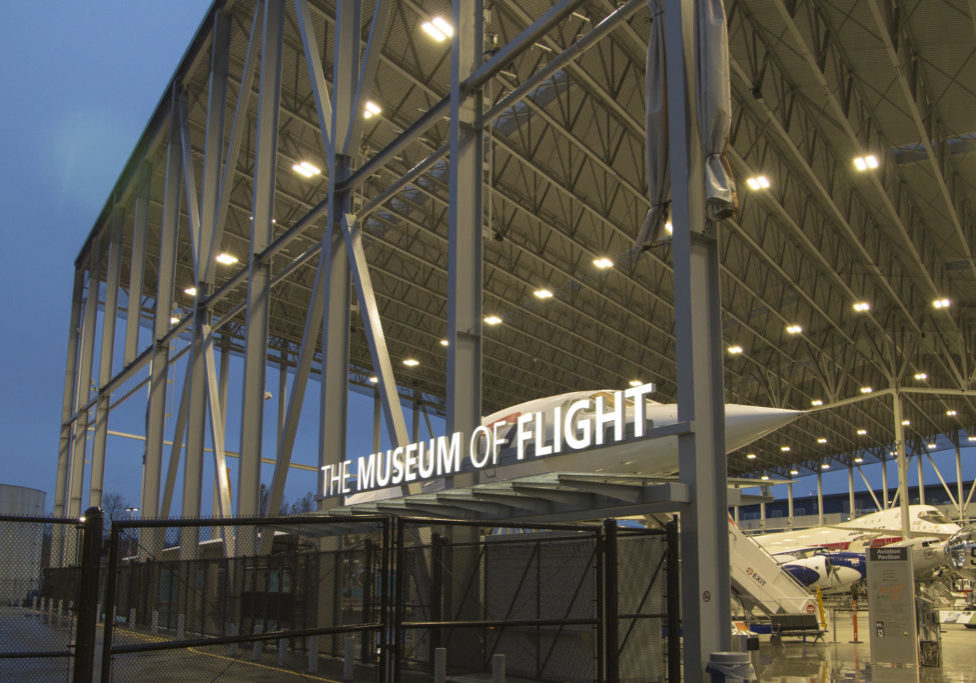 November 19, 2017 - Seattle, WA, USA: The Museum of Flight is an aviation and space museum in the northwest United States near Seattle and Tukwila