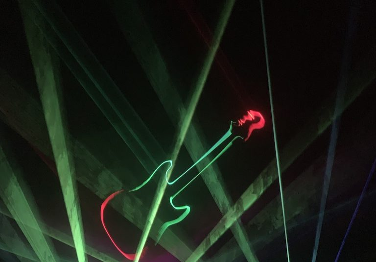 Pacific Science Center - Laser Show