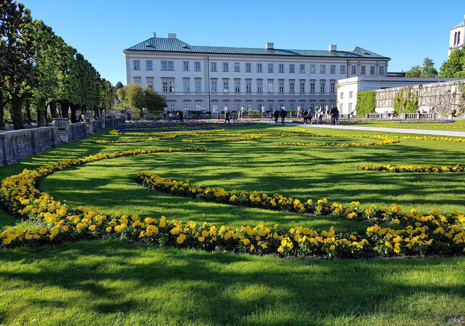 Salzburg Mirabell Garden