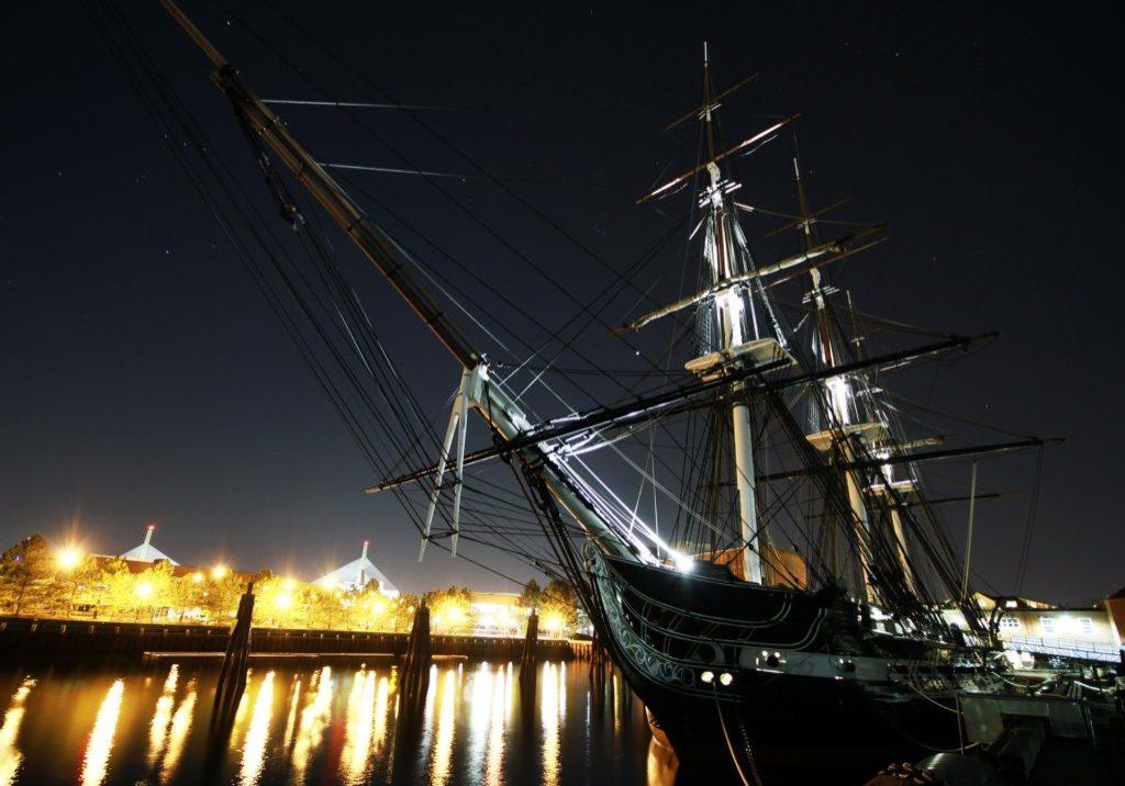 USS Constitution Night